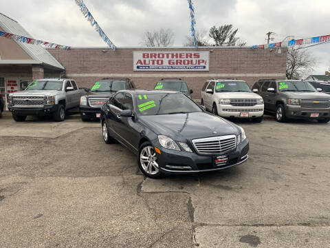 2011 Mercedes-Benz E-Class for sale at Brothers Auto Group in Youngstown OH