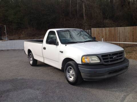 2003 Ford F-150 for sale at GIB'S AUTO SALES in Tahlequah OK