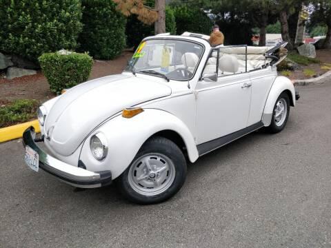 1979 Volkswagen Beetle Convertible for sale at SS MOTORS LLC in Edmonds WA