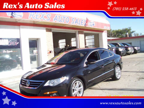 2009 Volkswagen CC for sale at Rex's Auto Sales in Junction City KS