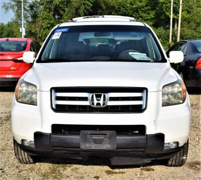 2006 Honda Pilot for sale at PINNACLE ROAD AUTOMOTIVE LLC in Moraine OH