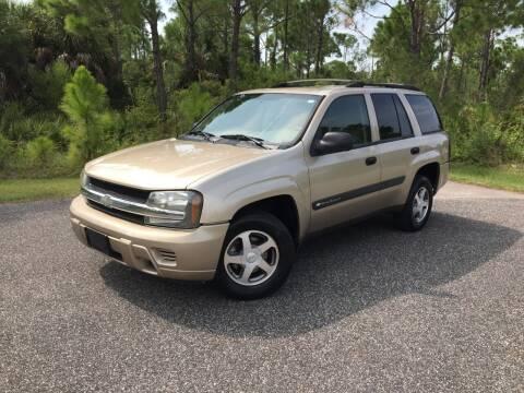 2004 Chevrolet TrailBlazer for sale at VICTORY LANE AUTO SALES in Port Richey FL