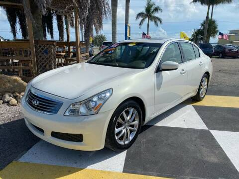 2009 Infiniti G37 Sedan for sale at D&S Auto Sales, Inc in Melbourne FL