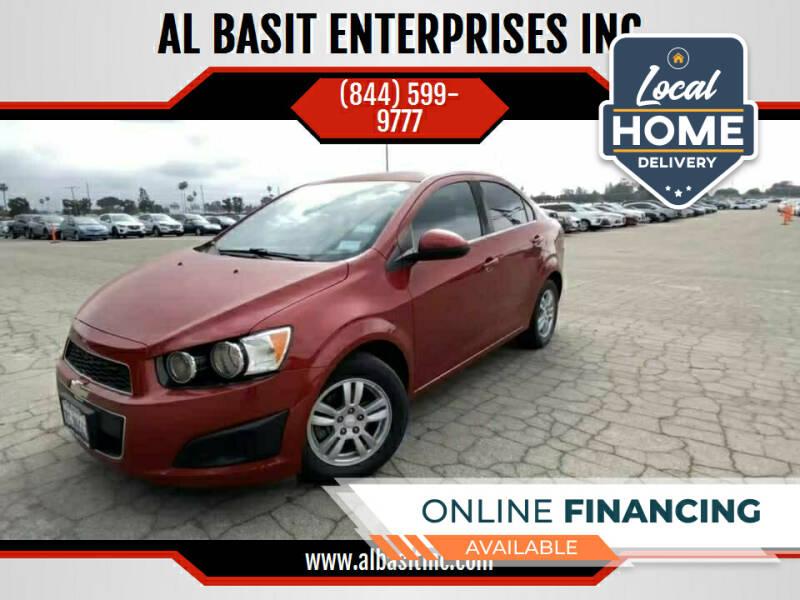 2014 Chevrolet Sonic for sale at AL BASIT ENTERPRISES INC in Riverside CA