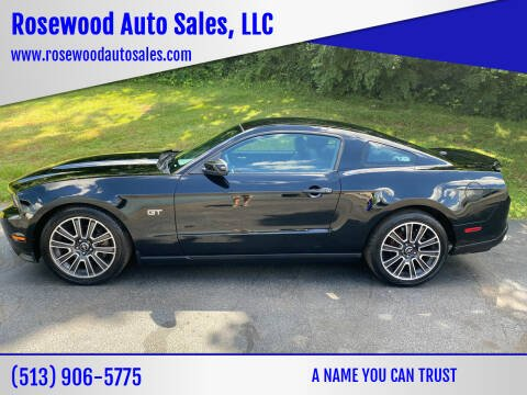 2010 Ford Mustang for sale at Rosewood Auto Sales, LLC in Hamilton OH