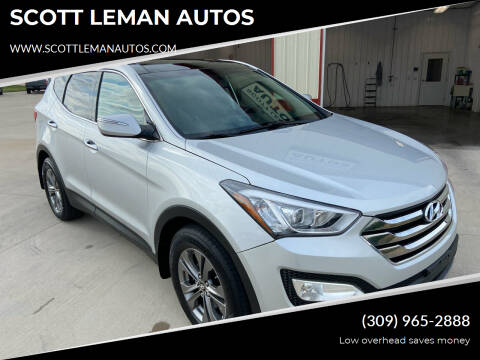 2013 Hyundai Santa Fe Sport for sale at SCOTT LEMAN AUTOS in Goodfield IL