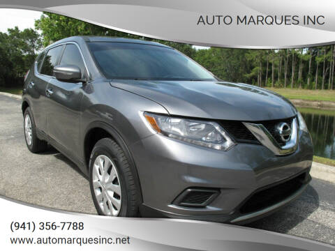 2015 Nissan Rogue for sale at Auto Marques Inc in Sarasota FL