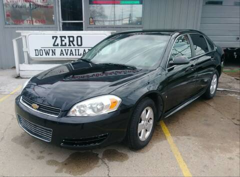 2009 Chevrolet Impala for sale at Wicked Motorsports in Muskegon MI