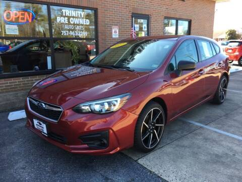 2017 Subaru Impreza for sale at Bankruptcy Car Financing in Norfolk VA