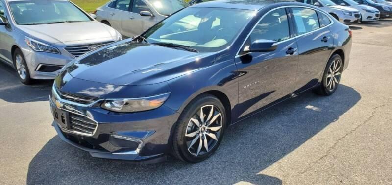 2016 Chevrolet Malibu for sale at Gallia Auto Sales in Bidwell OH