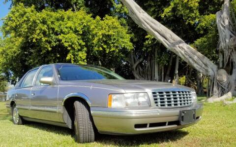 1998 Cadillac DeVille for sale at M.D.V. INTERNATIONAL AUTO CORP in Fort Lauderdale FL
