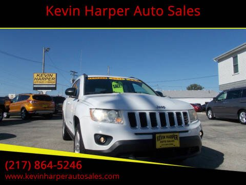 2011 Jeep Compass for sale at Kevin Harper Auto Sales in Mount Zion IL