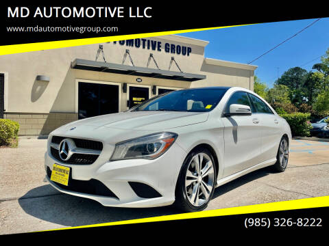 2015 Mercedes-Benz CLA for sale at MD AUTOMOTIVE LLC in Slidell LA