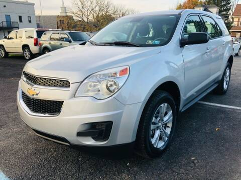 2013 Chevrolet Equinox for sale at 1NCE DRIVEN in Easton PA