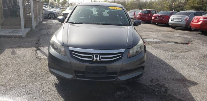 2012 Honda Accord for sale at Anthony's Auto Sales of Texas, LLC in La Porte TX