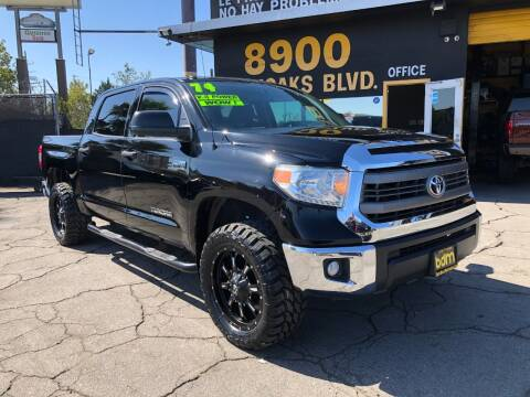 2014 Toyota Tundra for sale at BEST DEAL MOTORS  INC. CARS AND TRUCKS FOR SALE in Sun Valley CA