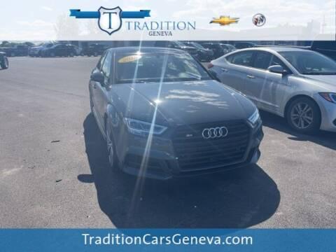 2018 Audi S3 for sale at Tradition Chevrolet Buick in Geneva NY