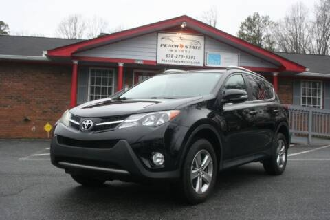 2015 Toyota RAV4 for sale at Peach State Motors Inc in Acworth GA