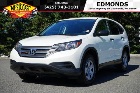 2014 Honda CR-V for sale at West Coast Auto Works in Edmonds WA