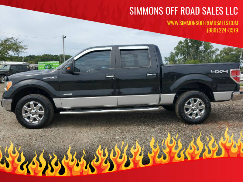 2013 Ford F-150 for sale at Simmons off road sales LLC in Saint Johns MI