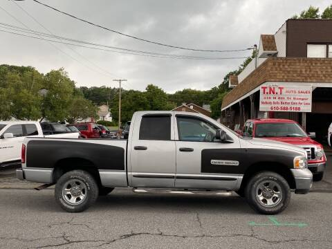 2005 Dodge Ram Pickup 1500 for sale at TNT Auto Sales in Bangor PA