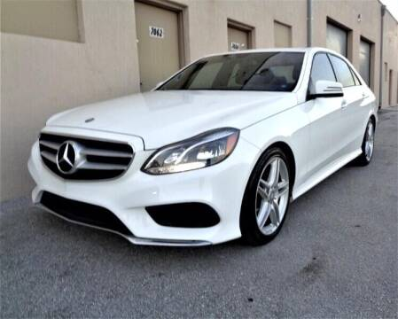 2014 Mercedes-Benz E-Class for sale at Selective Motor Cars in Miami FL