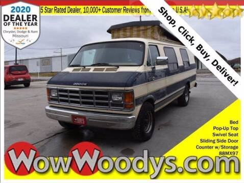 1988 Dodge Ram Van for sale at WOODY'S AUTOMOTIVE GROUP in Chillicothe MO