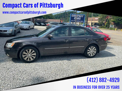 2009 Hyundai Sonata for sale at Compact Cars of Pittsburgh in Pittsburgh PA