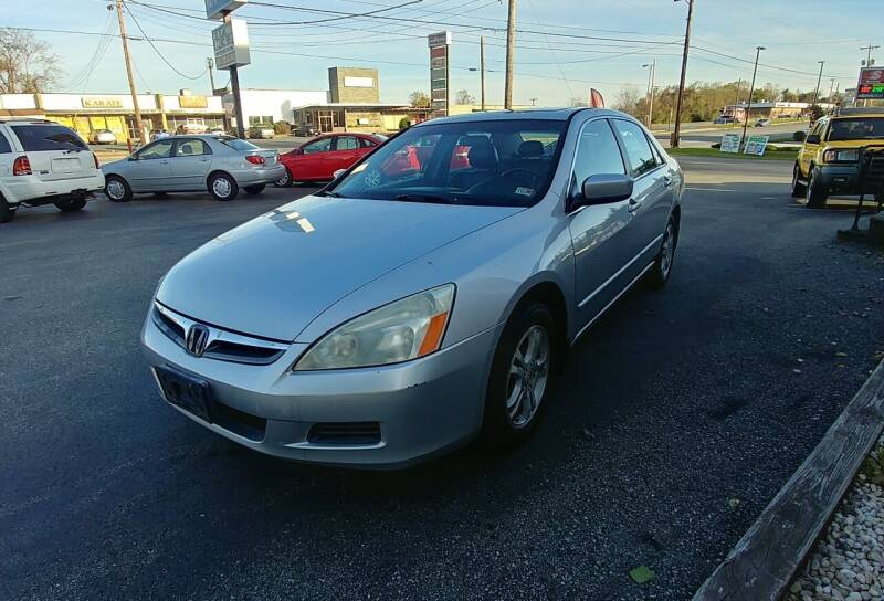 2006 Honda Accord for sale at Regional Auto Sales in Madison Heights VA