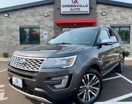 2017 Ford Explorer for sale at GREENVILLE AUTO & RV in Greenville WI