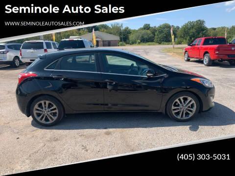 2016 Hyundai Elantra GT for sale at Seminole Auto Sales in Seminole OK