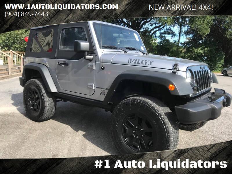 2015 Jeep Wrangler for sale at #1 Auto Liquidators in Yulee FL