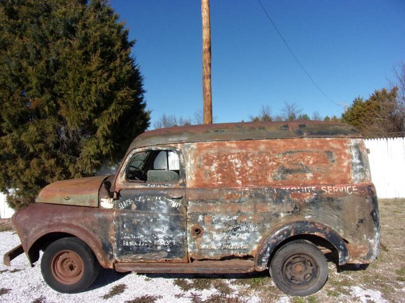 1948 Dodge Paddle Wagon for sale at ABC Auto Sales in Rogersville MO