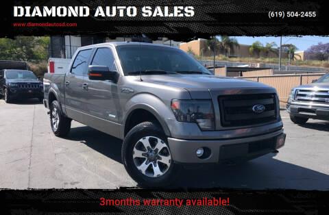 2014 Ford F-150 for sale at DIAMOND AUTO SALES in El Cajon CA