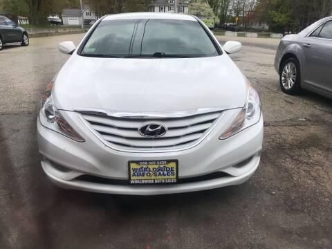 2013 Hyundai Sonata for sale at Worldwide Auto Sales in Fall River MA