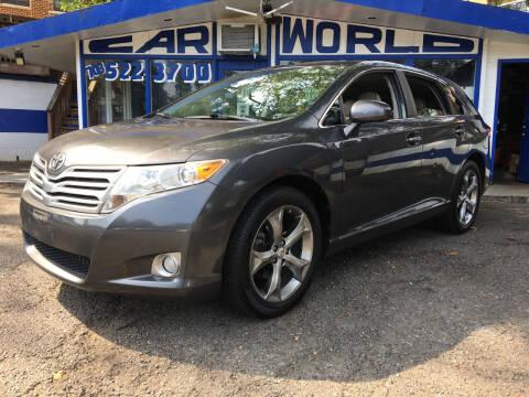 2010 Toyota Venza for sale at Car World Inc in Arlington VA