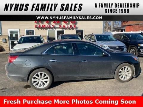 2016 Chevrolet Malibu Limited for sale at Nyhus Family Sales in Perham MN