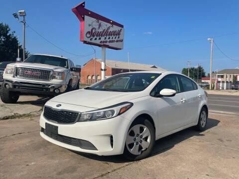 2017 Kia Forte for sale at Southwest Car Sales in Oklahoma City OK