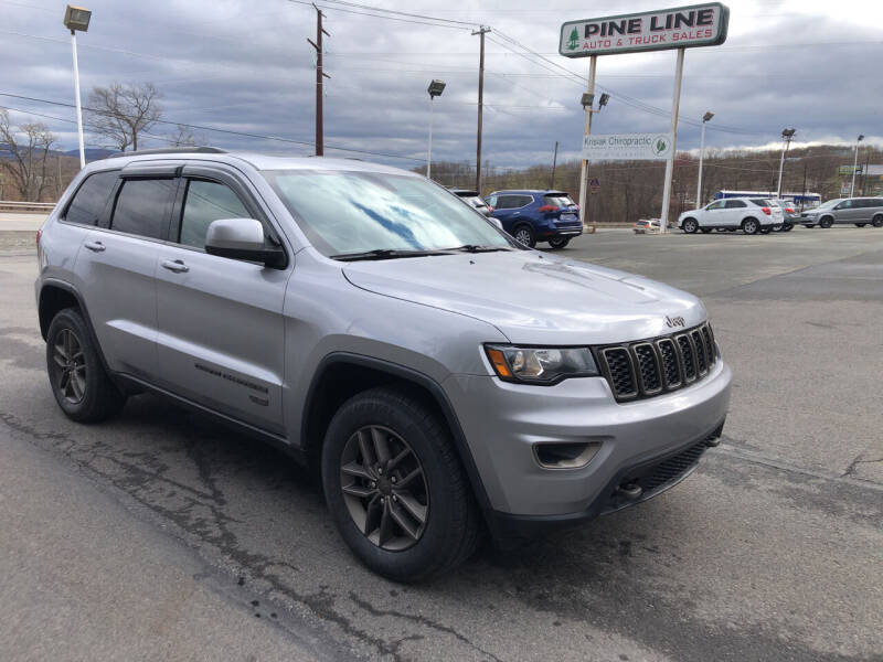 2017 Jeep Grand Cherokee for sale at Pine Line Auto in Eynon PA