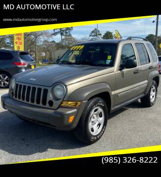 2007 Jeep Liberty for sale at MD AUTOMOTIVE LLC in Slidell LA