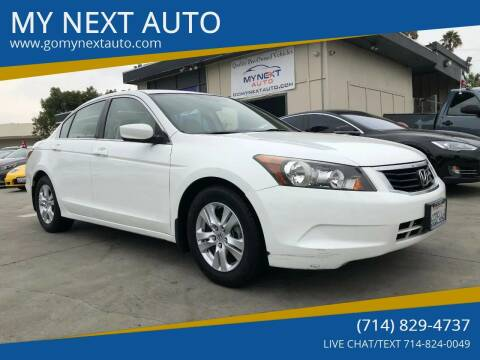 2009 Honda Accord for sale at My Next Auto in Anaheim CA