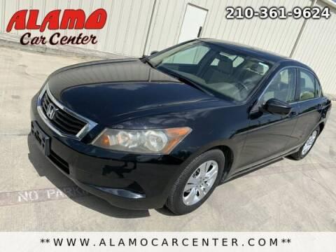 2008 Honda Accord for sale at Alamo Car Center in San Antonio TX