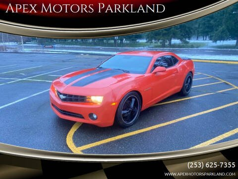 2010 Chevrolet Camaro for sale at Apex Motors Parkland in Tacoma WA