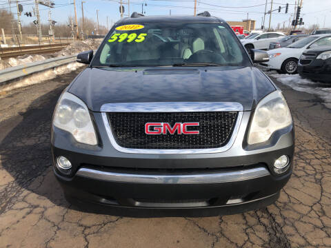 2012 GMC Acadia for sale at Discovery Auto Sales in New Lenox IL