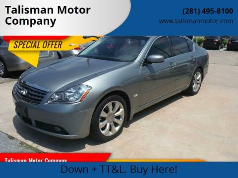 2007 Infiniti M35 for sale at Don Jacobson Automobiles in Houston TX