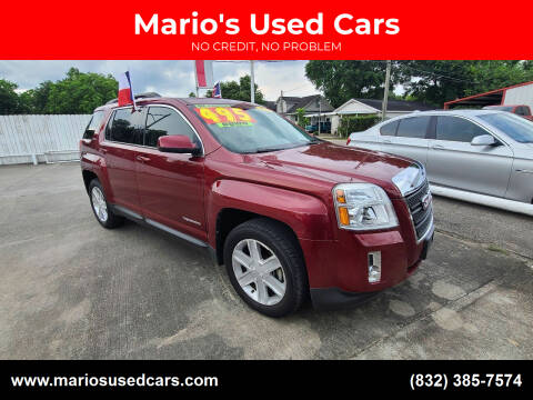 2014 GMC Terrain for sale at Mario's Used Cars - South Houston Location in South Houston TX
