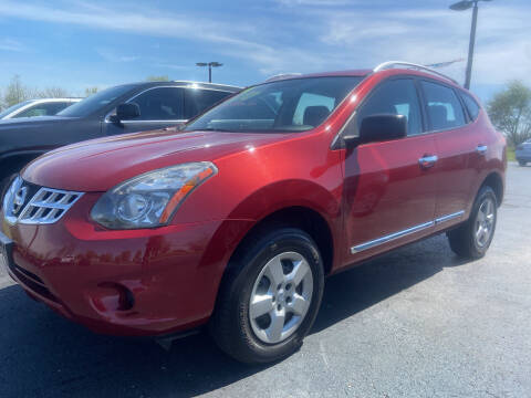 2015 Nissan Rogue Select for sale at EAGLE ONE AUTO SALES in Leesburg OH