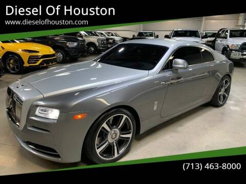 2015 Rolls-Royce Wraith for sale at Diesel Of Houston in Houston TX