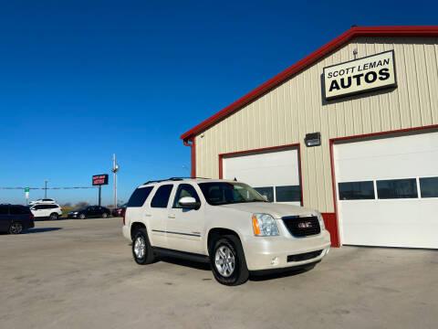 2011 GMC Yukon for sale at SCOTT LEMAN AUTOS in Goodfield IL