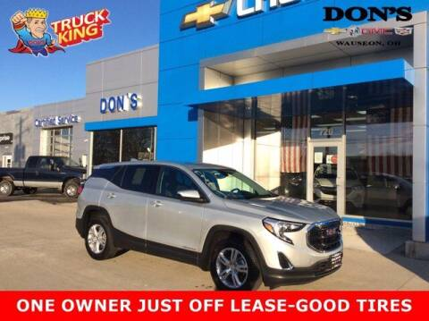 2018 GMC Terrain for sale at DON'S CHEVY, BUICK-GMC & CADILLAC in Wauseon OH